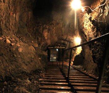 Podziemne Miasto Osówka - korytarz
