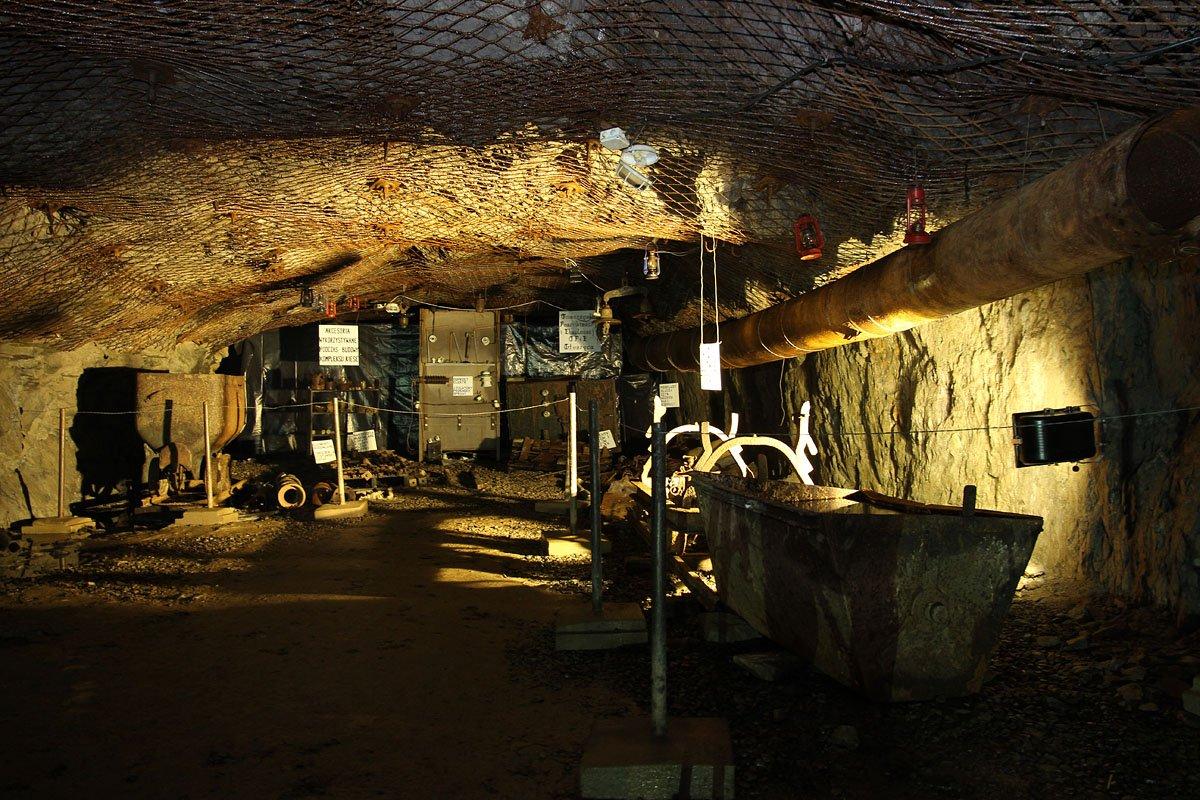 Podziemne Miasto Osówka - wystawa