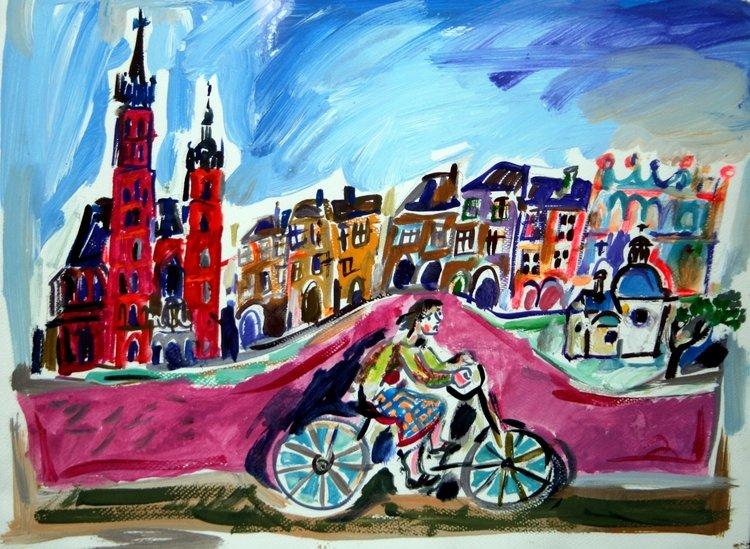 Rowerem przez Kraków – konkurs plastyczny