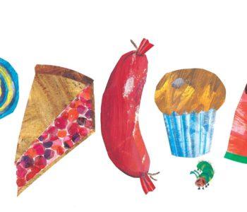 warsztaty dla dzieci, ksiązki dla dzieci Bardzo Głodna Gąsiennica