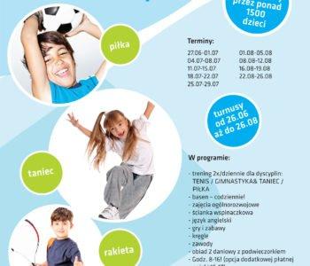 Sportowe półkolonie w Katowicach