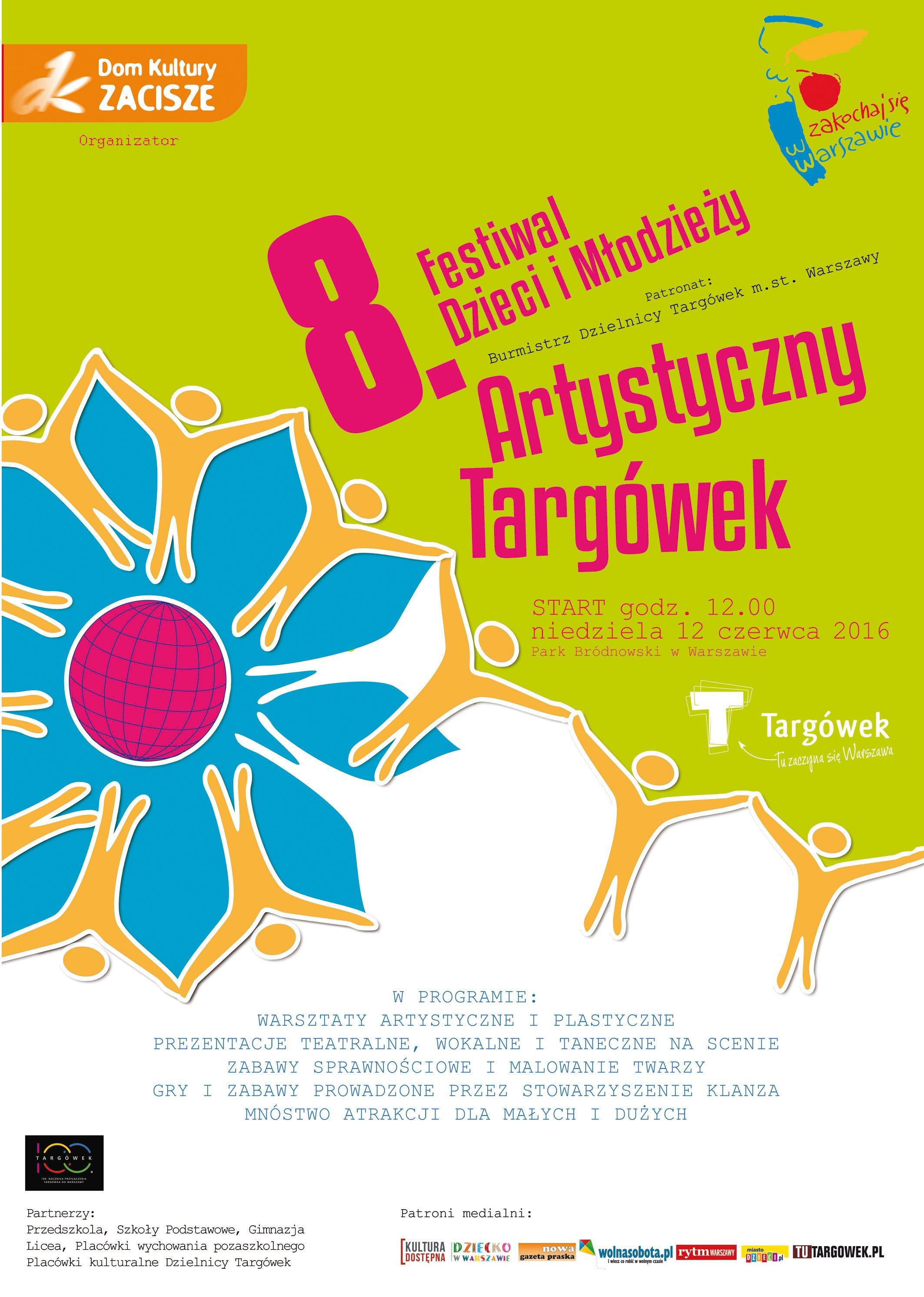 8.Festiwal Dzieci i Młodzieży Artystyczny Targówek