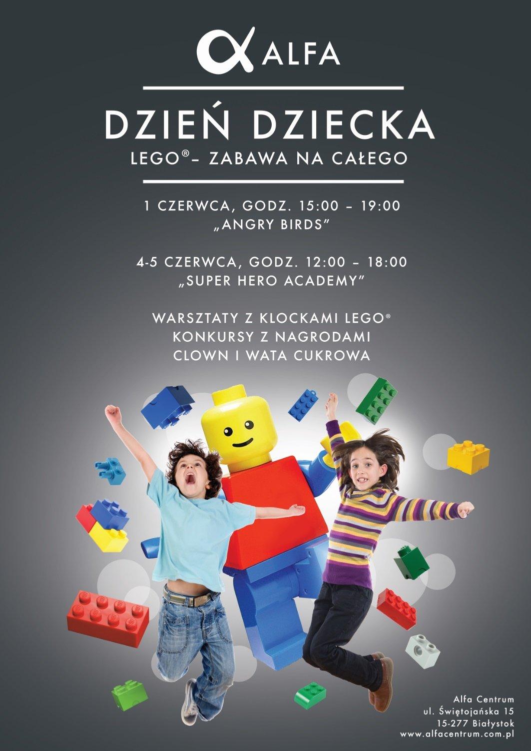 Trzydniowy Dzień Dziecka z klockami LEGO® w Białymstoku