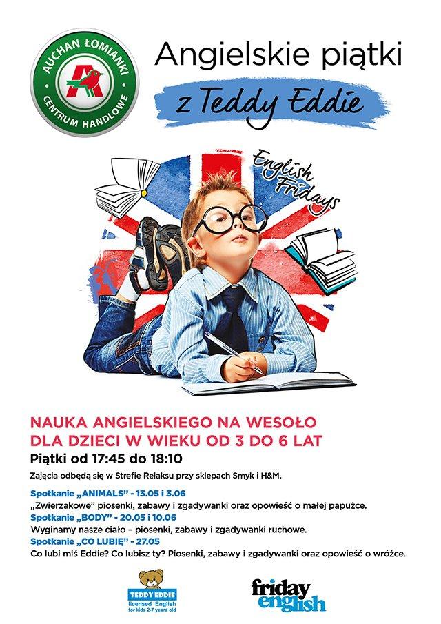 angielski dla dzieci bezpłatne warstzaty