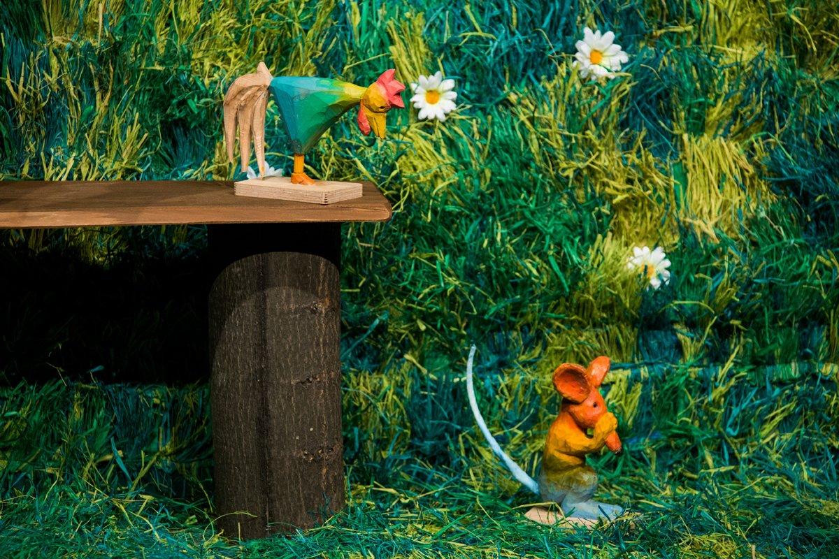 Opolski Teatr Lalki i Aktora Bajka o szczęściu