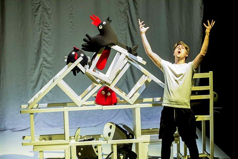 karnawał zwierząt teatr pinokio