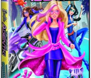 Barbie Tajne agentki DVD film o Barbie dla dziewczynek