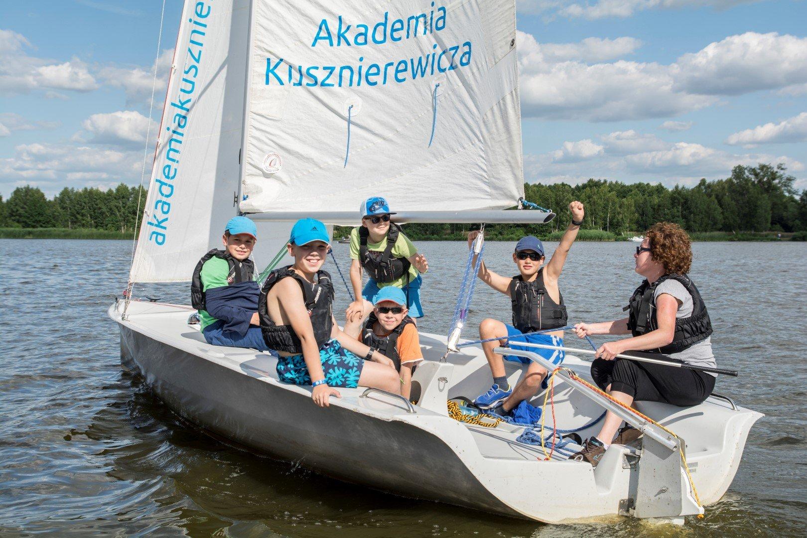Obozy żeglarskie dla dzieci Akademia Kusznierewicza