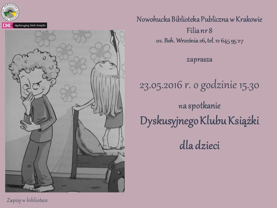 klub dyskusyjny ksiazki w Krakowie