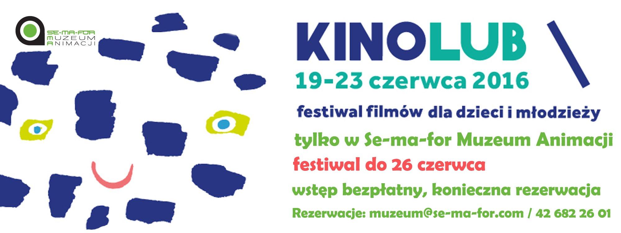kinolub festiwal filmów dla dzieci i młodzieży