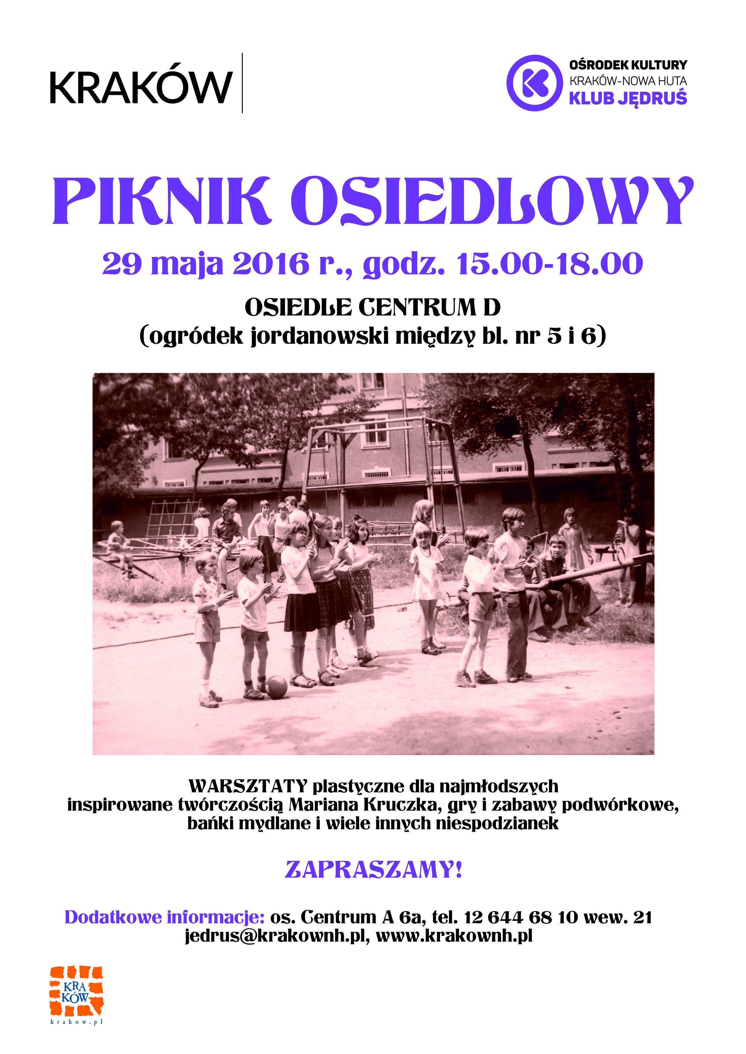 piknik osiedlowy w krakowie