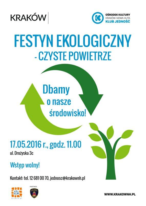 festyn ekologiczny w Krakowie