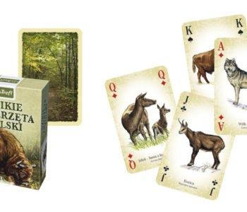 trefl gra dziekie zwierzęta