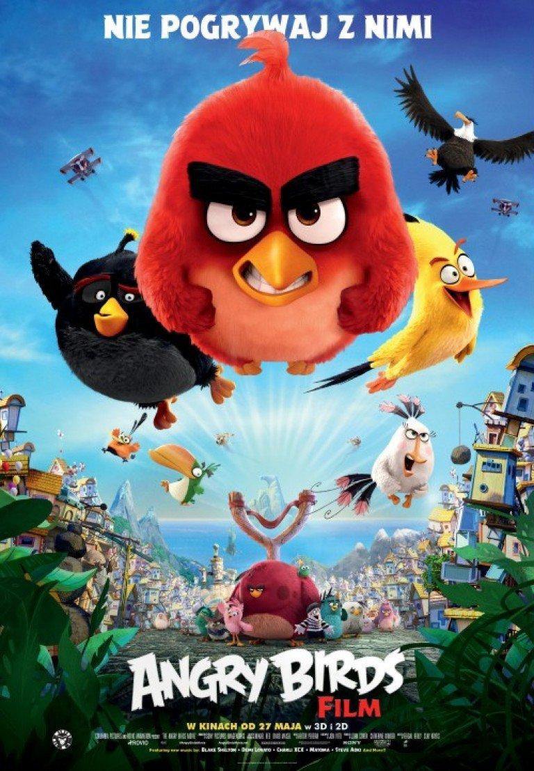 Angry Birds Film 2D w Kinie Rialto