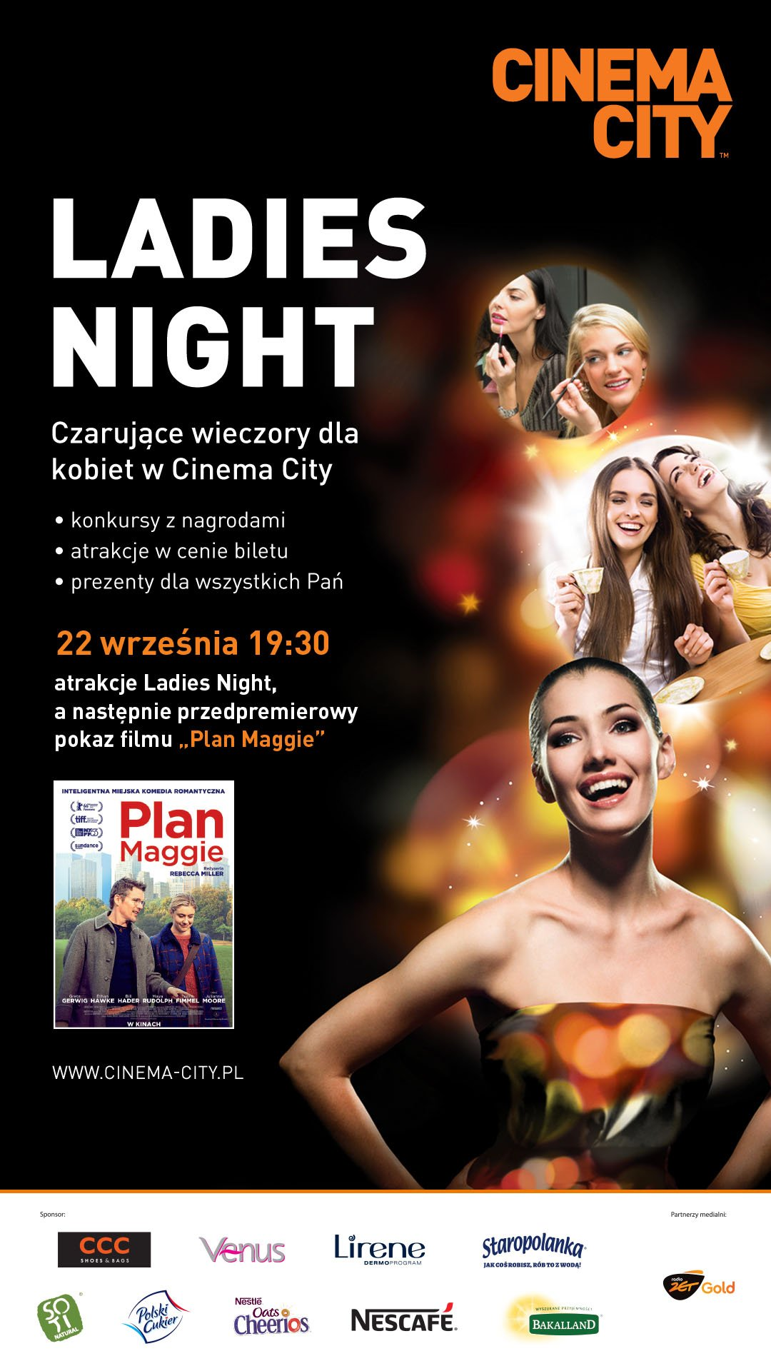Ladies Night w Cinema City Bonarka