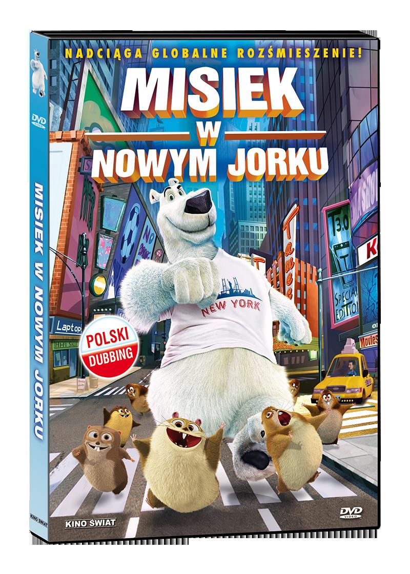 Misiek w nowym yorku dvd