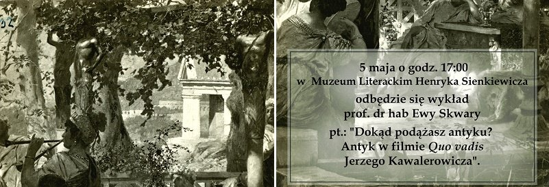 5 maja w Muzeum H.Sienkiewicza