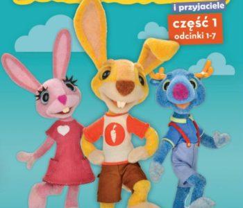 Plakat promujący I serię animacji Parauszek i Przyjaciele