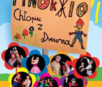 Pinokio chłopiec z drewna Teatr Zagłębia
