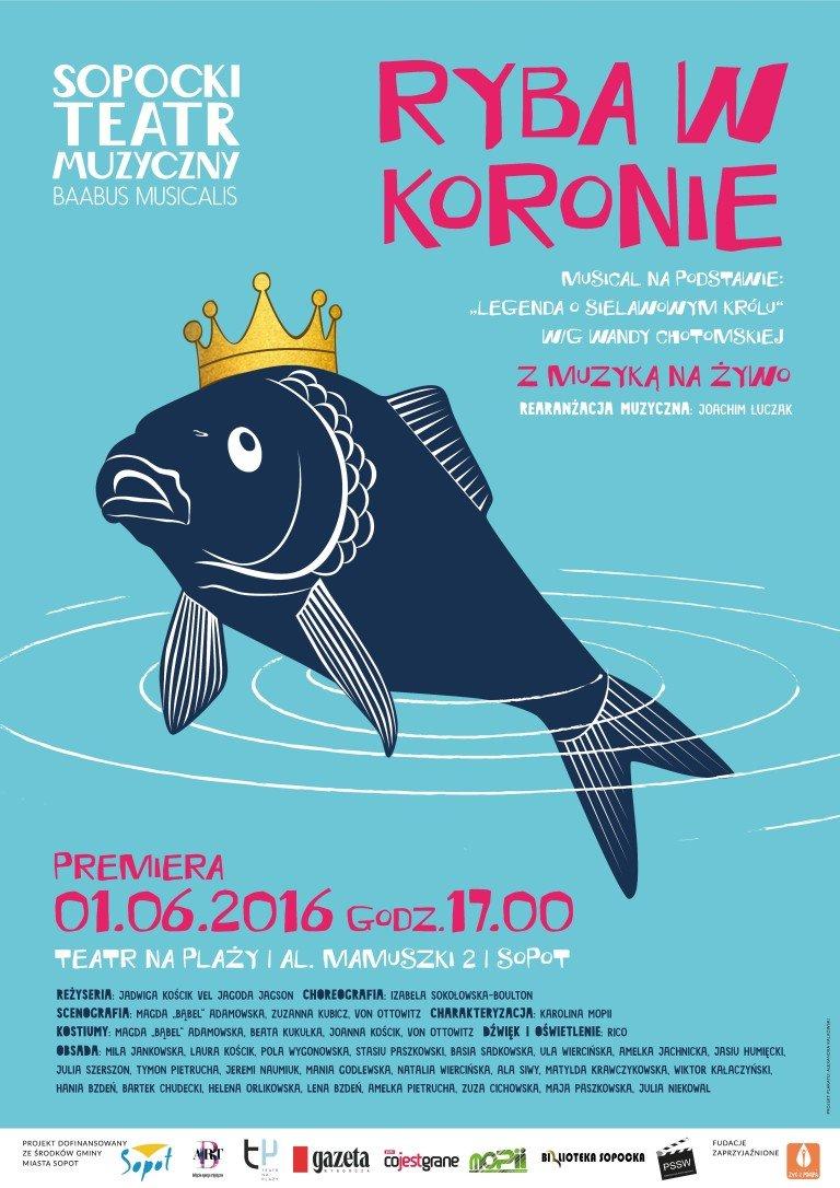 Dzień DZiecka 2016 Ryba z koroną, spektakl dla dzieci