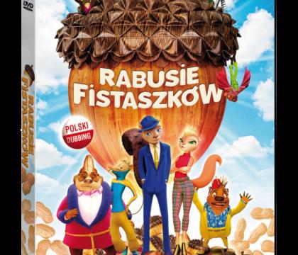 Rabusie fistaszków film dvd dla dzieci