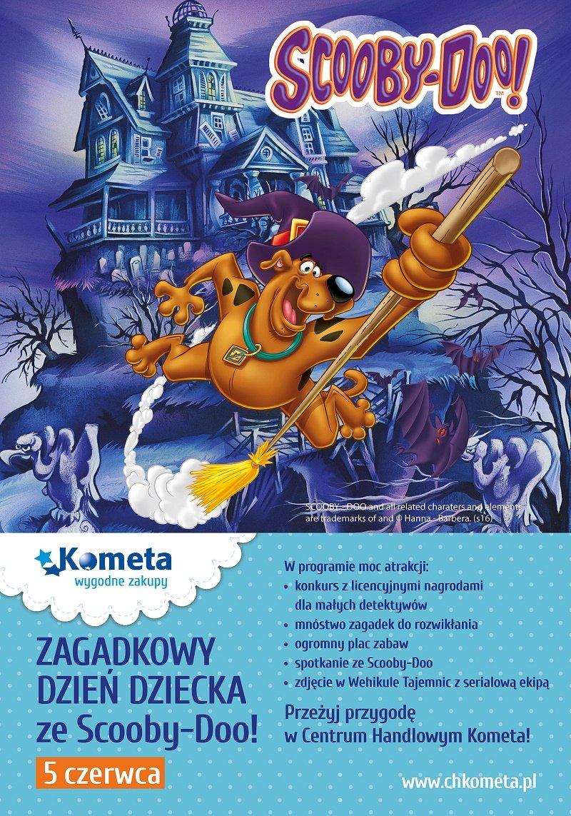 Scooby-Doo w Centrum Handlowe Kometa
