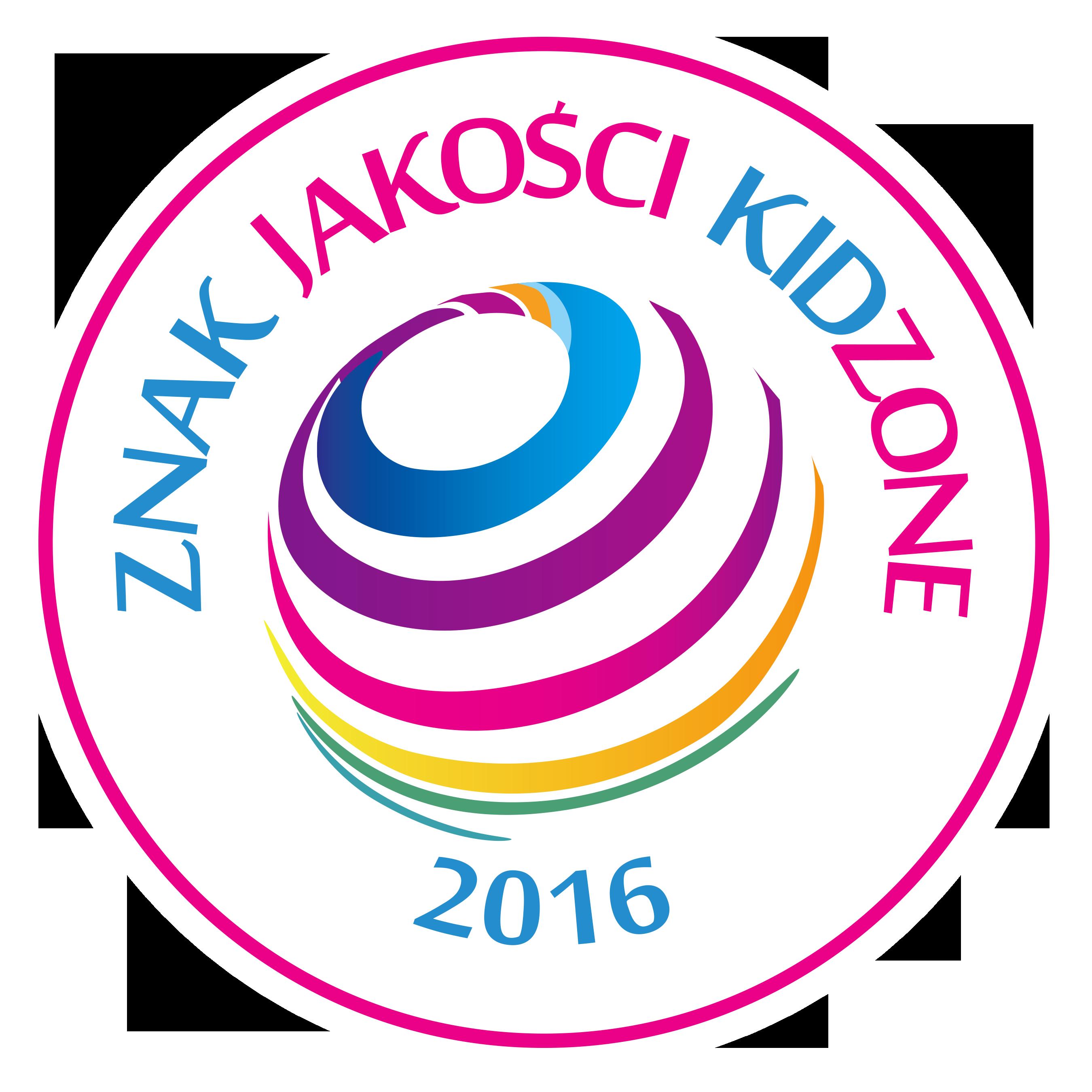 Znak Jakosc iKidZone 2016 wyróżnienia dla firm przyjaznych dzieciom