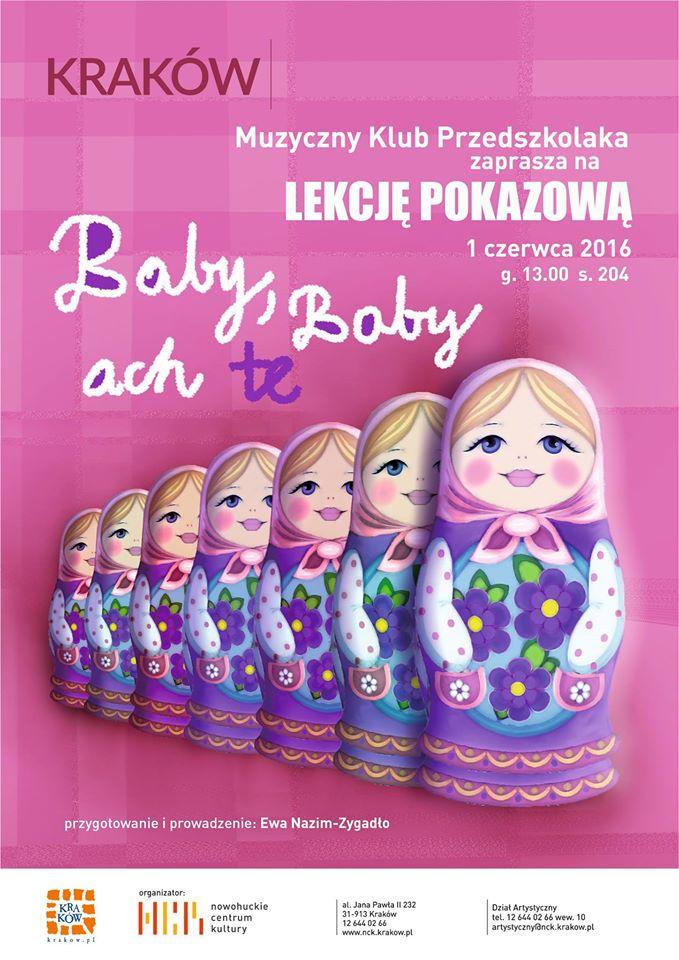 pokaz przedszkolaków w krakowie
