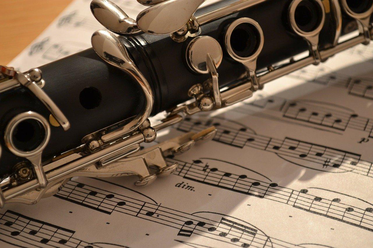 klarnet nuty muzyka instrument
