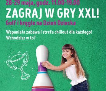 Atrakcje z okazji Dnia Dziecka – gry w wersji XXL w Galerii Gniezno