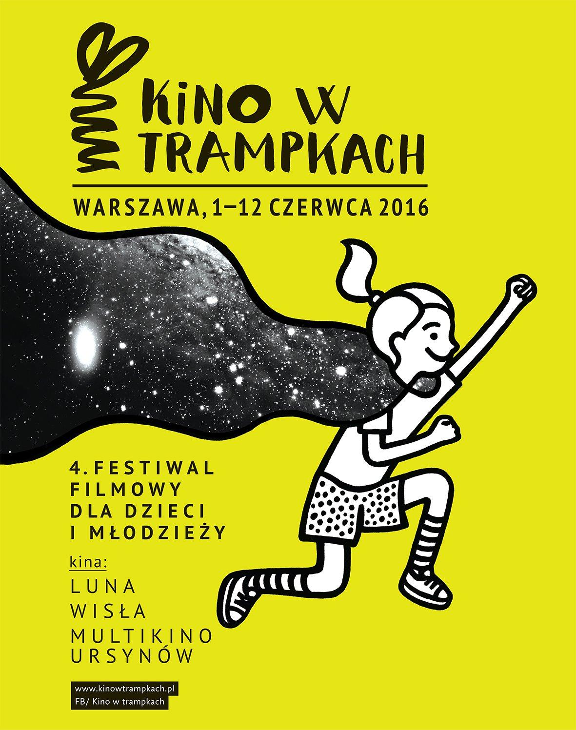 Kino w trampkach letni festiwal filmowy dla dzieci w Warszawie