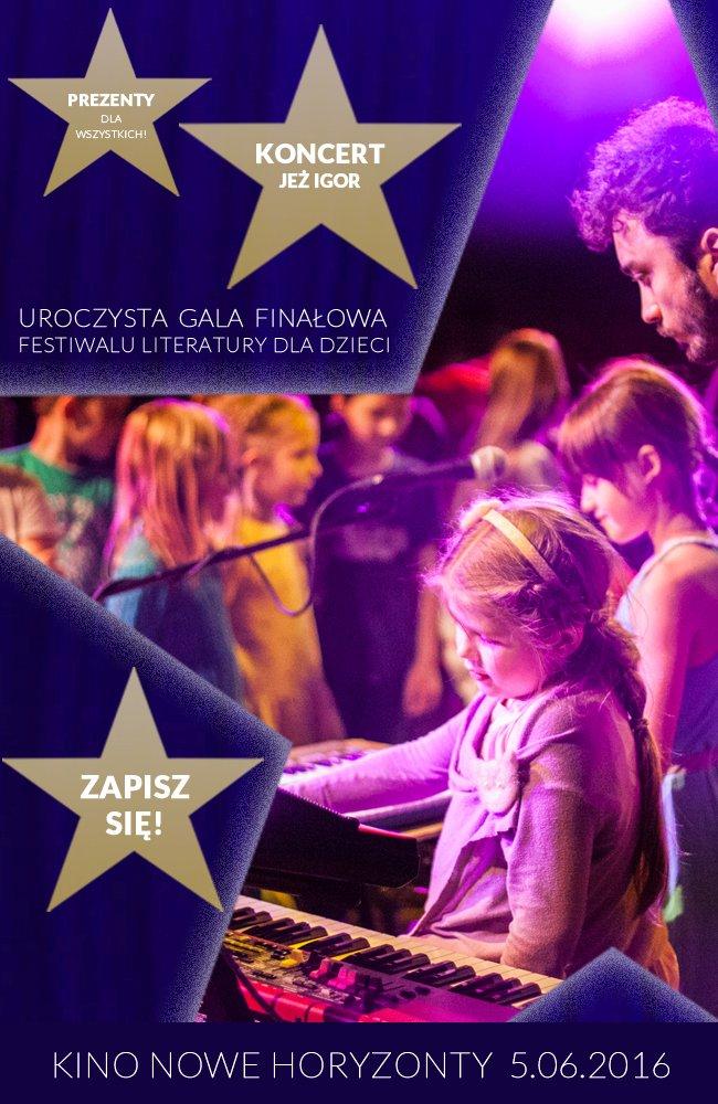 Festiwal Literatury dla Dzieci - gala