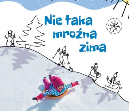 Nie taka mroźna zima książka dla dzieci