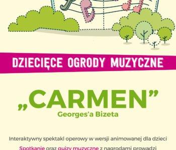 widowisko interaktywne dla dzieci Carmen Bizet