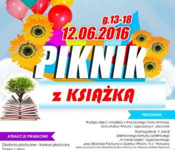 piknik-z-ksiazka Dom Kultury Włochy DK Włochy