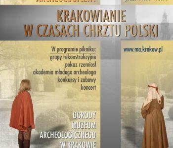 piknik archoelogiczny Kraków