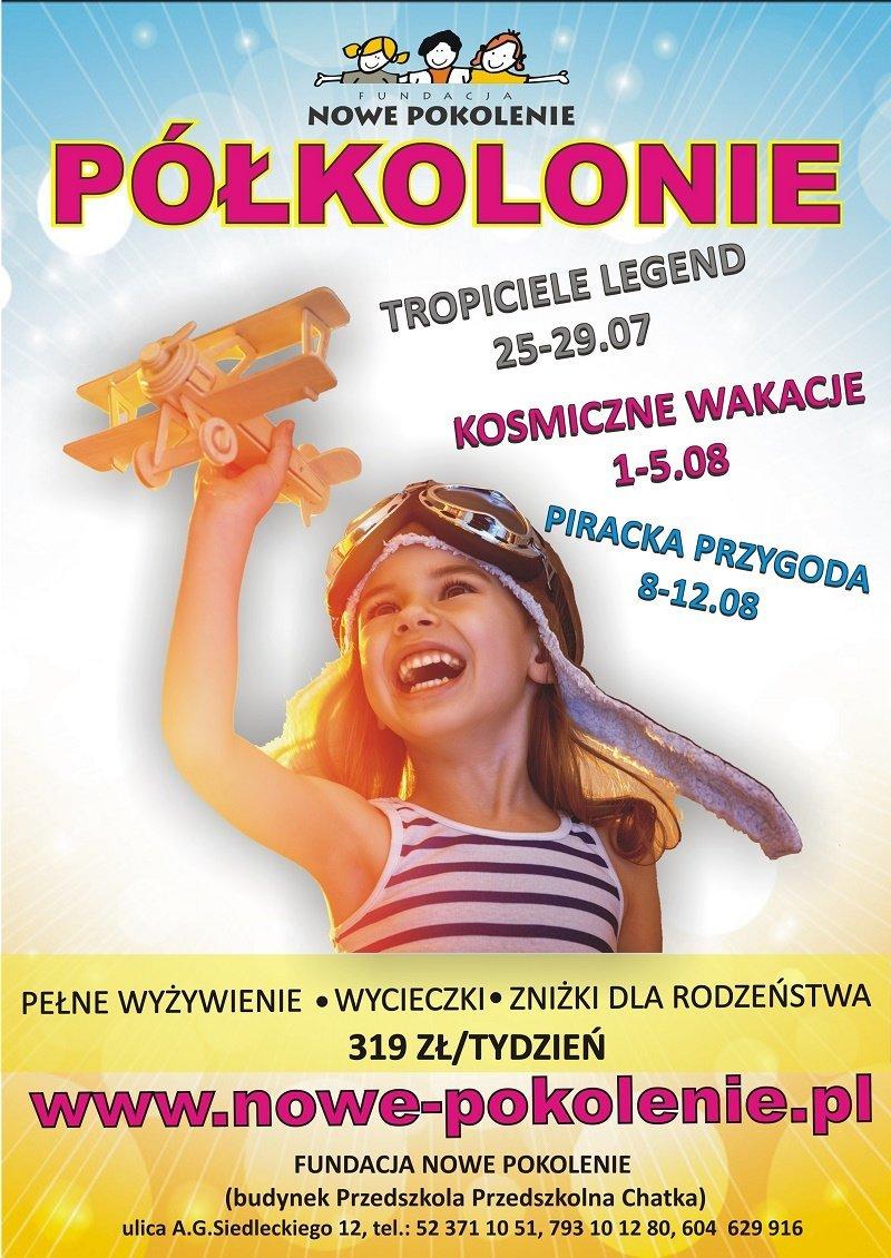 Jeszcze tylko maj, czerwiec i WAKACJE, znów będą wakacje! Półkolonie w Bydgoszczy