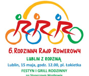 6 Rodzinny Rajd Rowerowy: Lublin z Rodziną