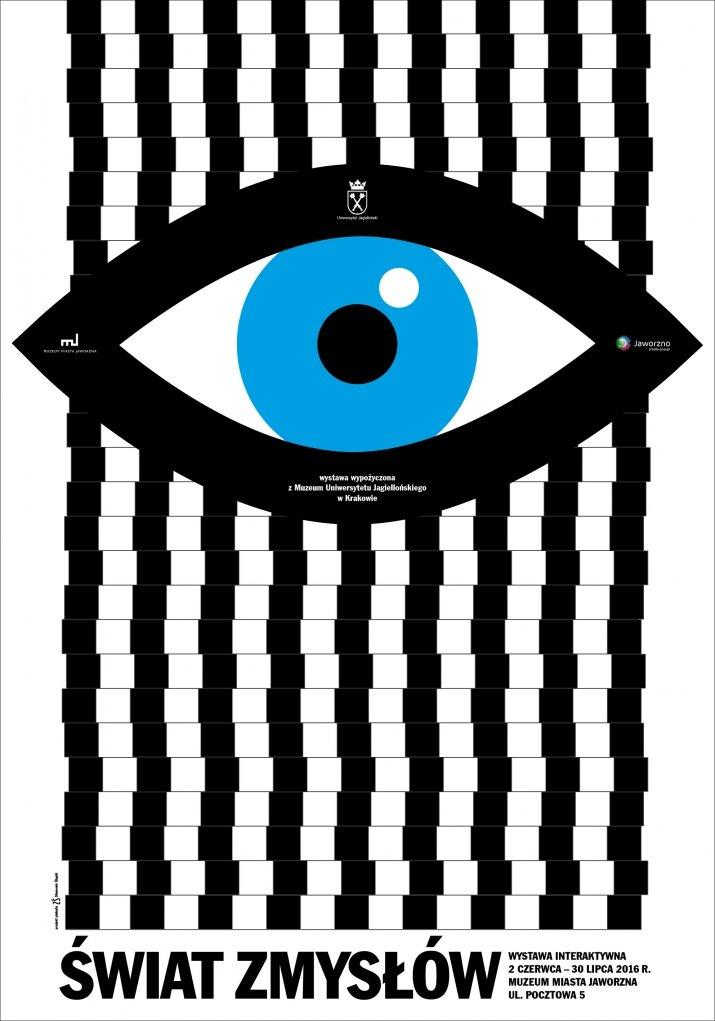 Świat Zmysłów wystawa plakat