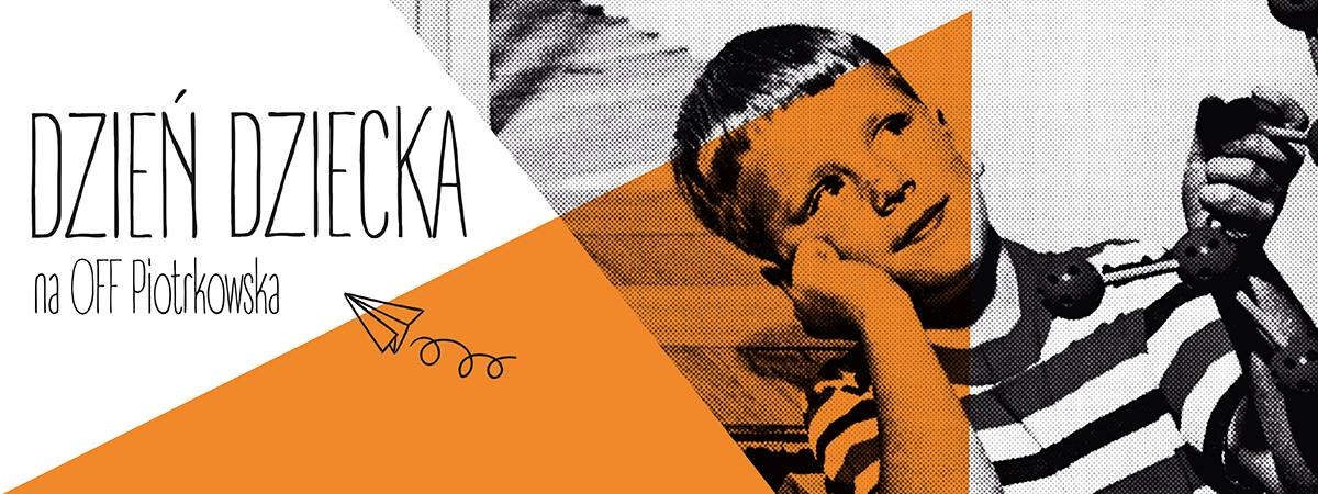 Dzień Dziecka z OFF Piotrkowska Center - plakat