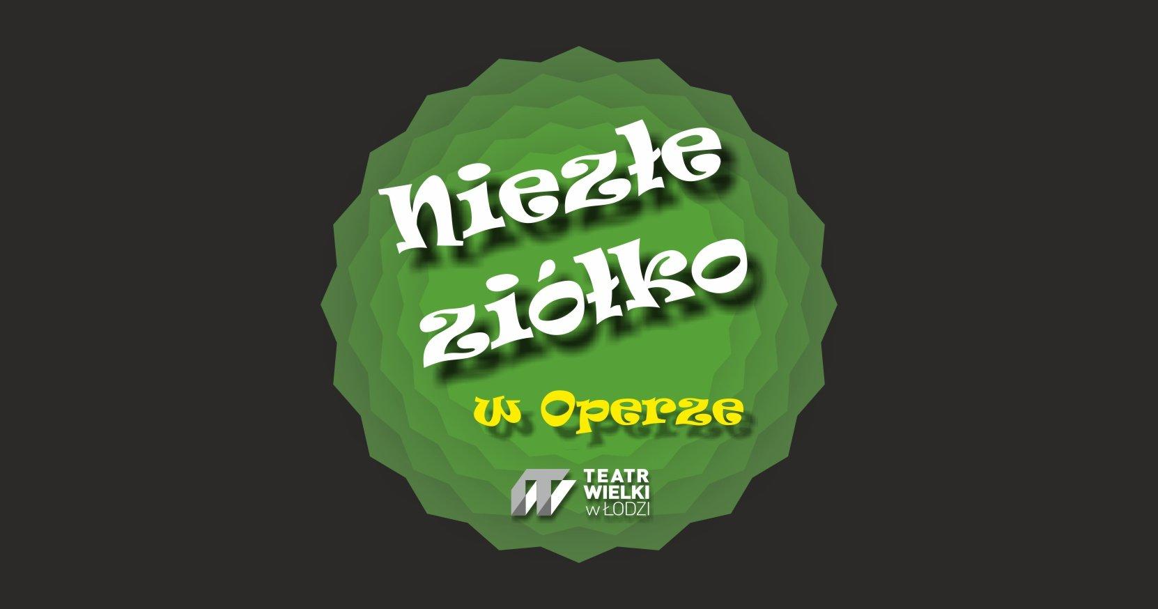 Niezłe ziółko - warsztaty zielarskie w Teatrze Wielkim w Łodzi