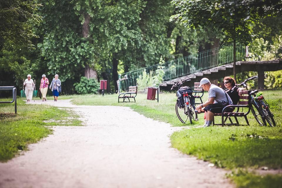 Park nad Jasieniem w Łodzi