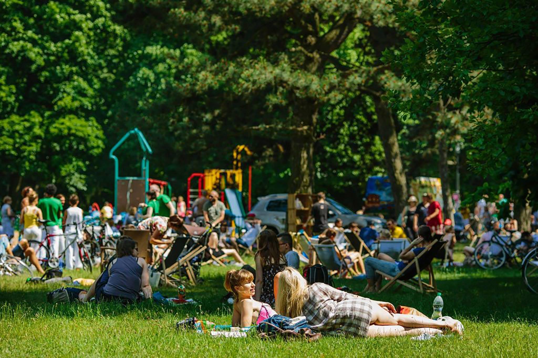festiwal odpoczyknu 2016 park poniatowskiego