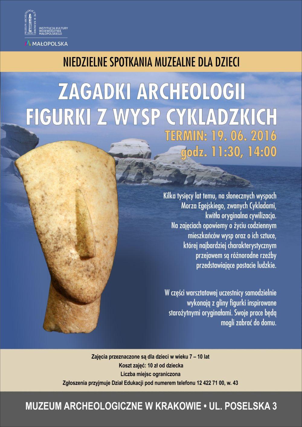 warsztaty krakow Zagadki archeologii