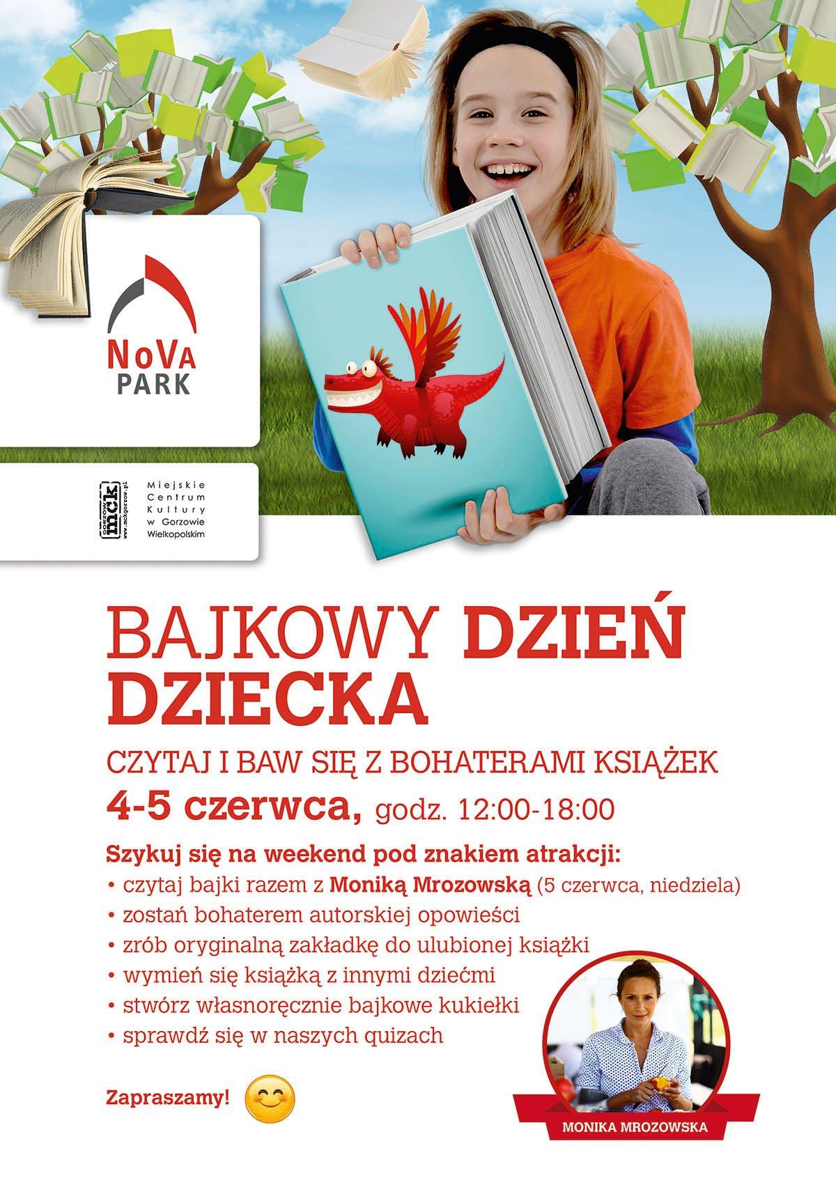 Bajkowy Dzień Dziecka w NoVa Park w Gorzowie Wielkopolskim