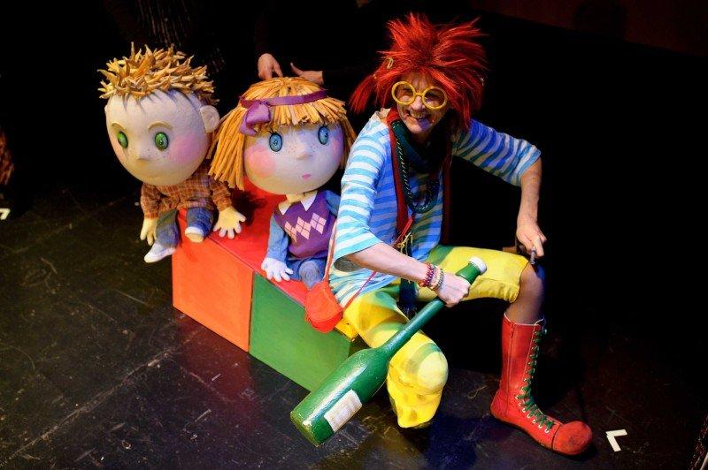 Być jak Pippi w teatrze Kubuś w Kielcach