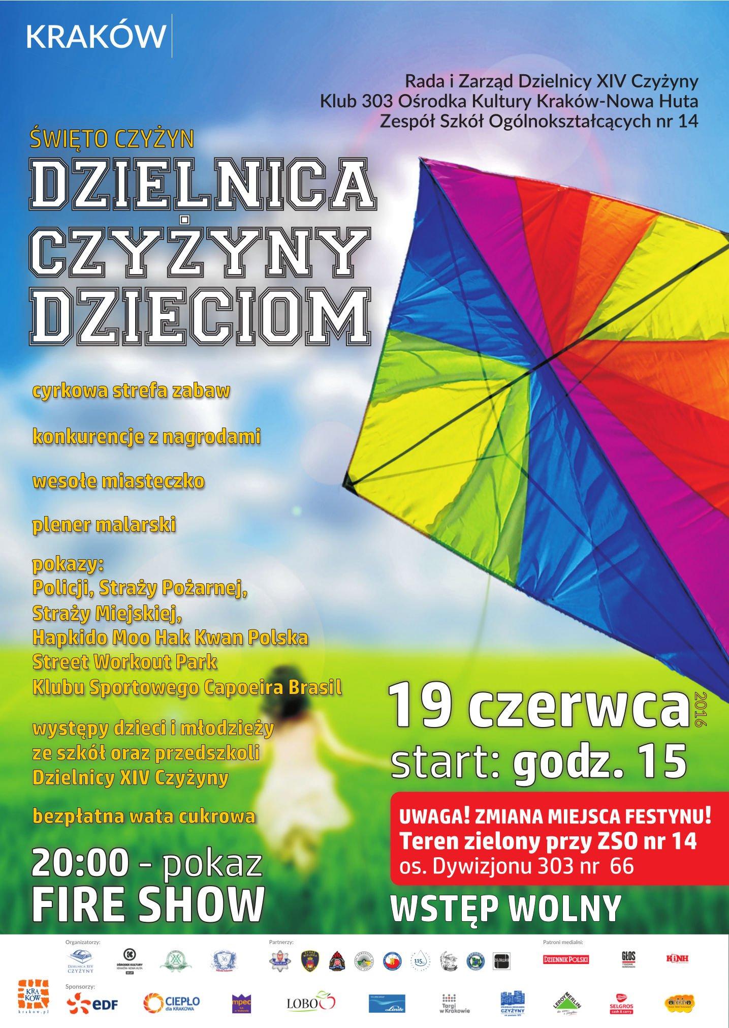 piknik Czyżyny dzieciom Kraków