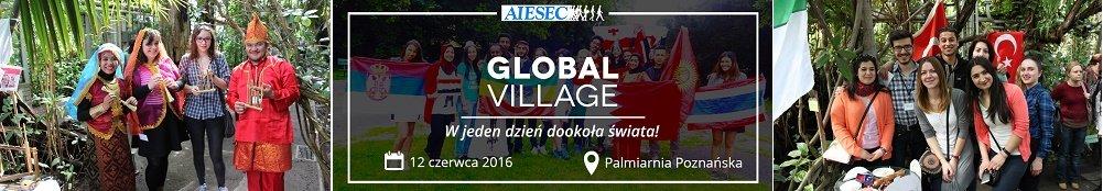 Global Village - wielokulturowe wydarzenie w Poznaniu