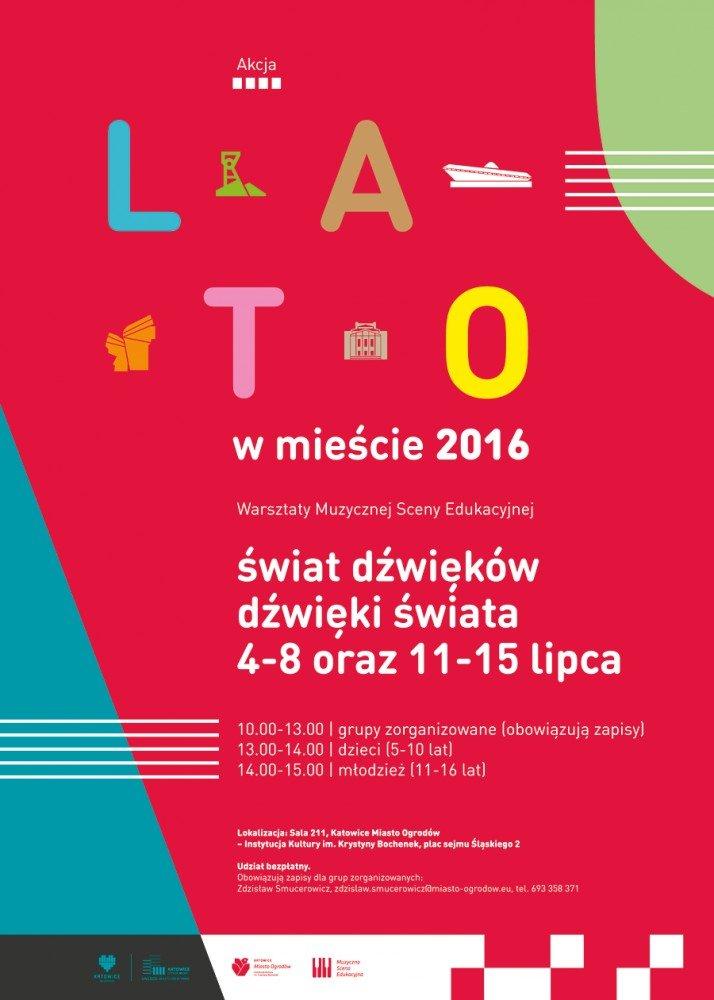 Katowice Miasto Ogrodów lato 2016