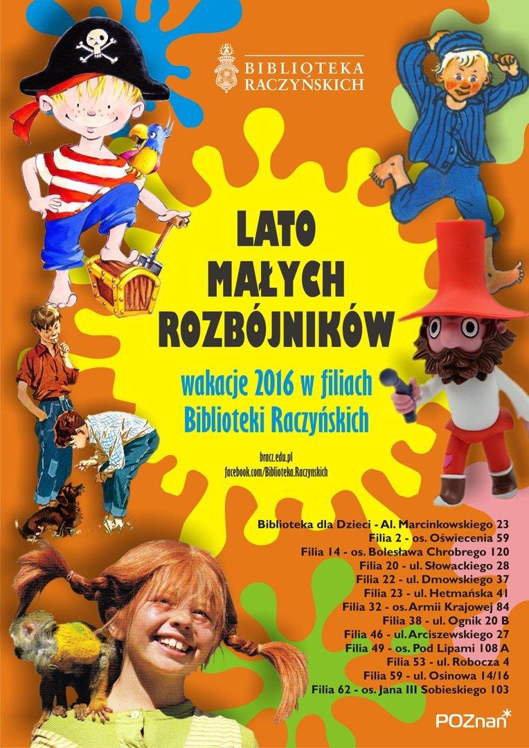 Akcja Lato w Bibliotece Raczyńskich